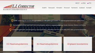 78159ea121e L.L Corrector OÜ - Ehitustööliste kaartide tellimine, Firmade ...